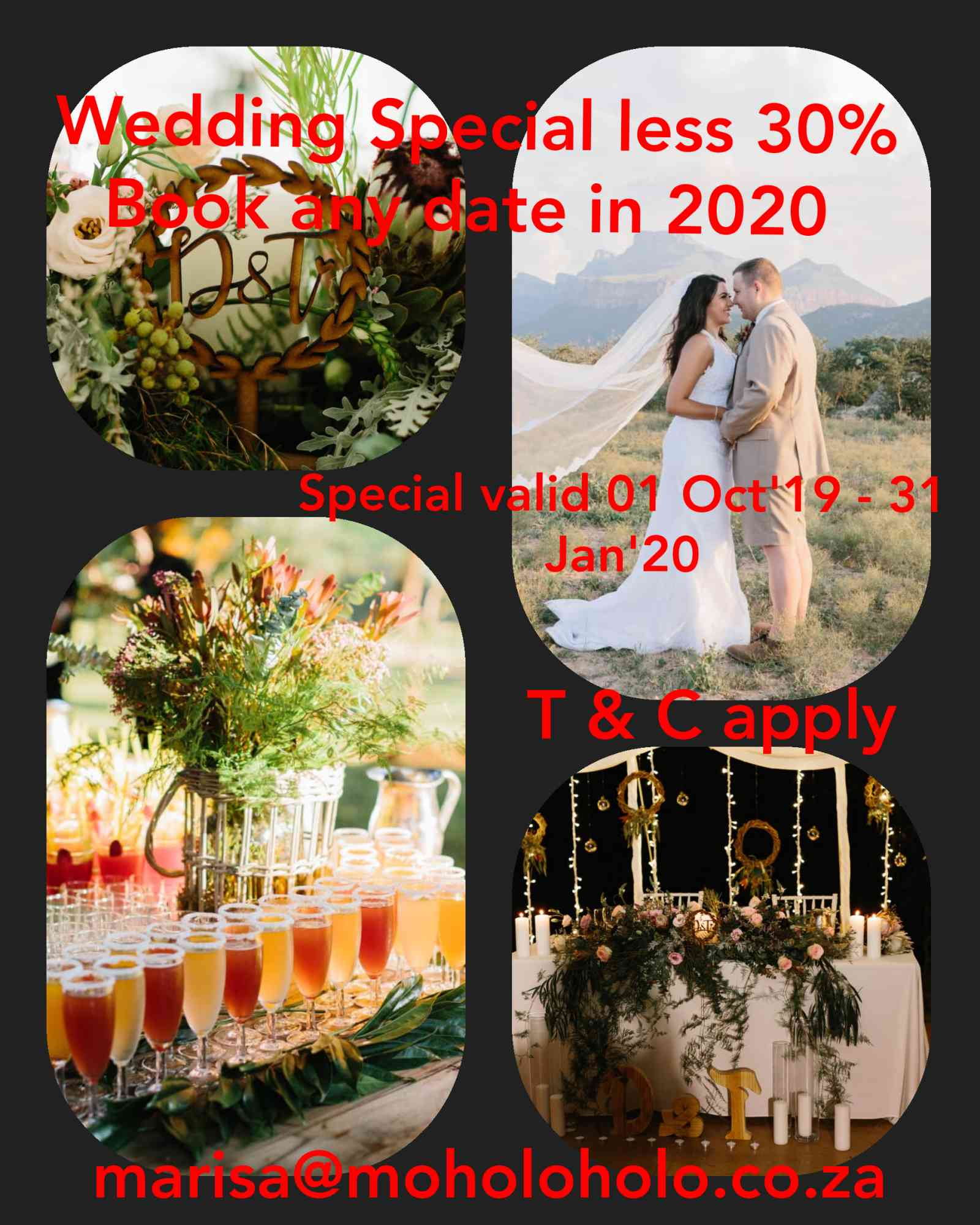 wedding special less 30%